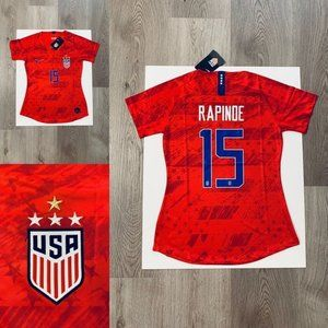 Rapinoe %2315 nike women soccer jersey USA away